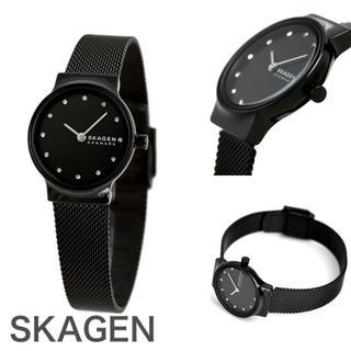 SKAGEN - 新品未使用【SKAGEN】スカーゲン ブラックメッシュ腕時計