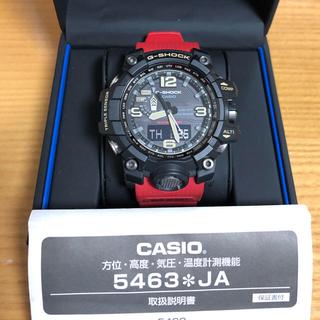 ジーショック(G-SHOCK)の最終値下げ 美品 CASIO G-SHOCK GWG-1000 マッドマスター(腕時計(デジタル))