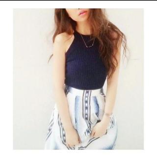 ジェイダ(GYDA)のGYDA ボヘミアン柄ひざ丈スカート(ひざ丈スカート)