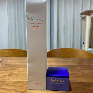 ヴァーナル(VERNAL)のヴァーナルの化粧水さっぱりタイプとクリーム状美容液(化粧水/ローション)