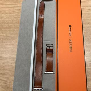 エルメス(Hermes)の(正規品)Apple Watch ドゥブルトゥール エルメス フォーヴ 40mm(レザーベルト)