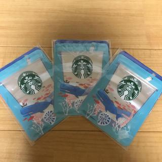 スターバックスコーヒー(Starbucks Coffee)のスタバ ジッパーバック(日用品/生活雑貨)