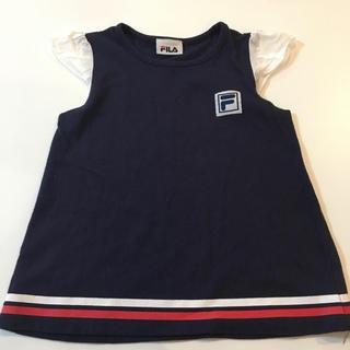 フィラ(FILA)のFILA フィラ ネイビー トップス 80〜90cm(Tシャツ)