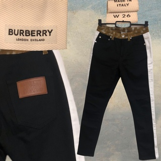 バーバリー(BURBERRY)のバーバリー ロンドン ラインパンツ W26(デニム/ジーンズ)