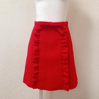 miumiu - miumiu♡リボン フリル スカート