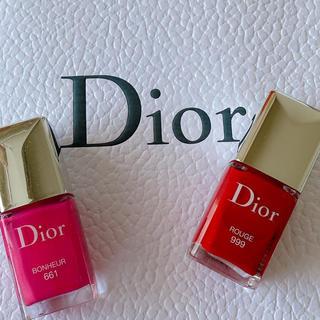 Dior - 【値下げ♡半額以下】Diorネイル2本セット