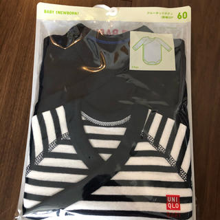 ユニクロ(UNIQLO)のユニクロ ベビー服 肌着 カバーオール ロンパース(カバーオール)
