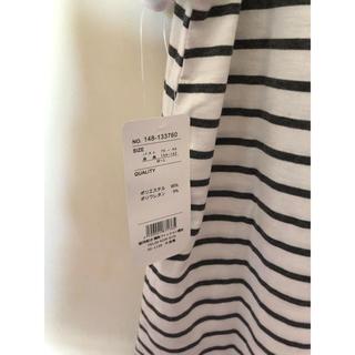 ボーダートップス(Tシャツ(半袖/袖なし))