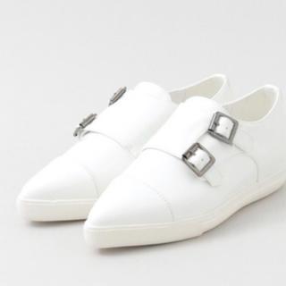 アーバンリサーチ(URBAN RESEARCH)の【値下げ!未使用】RODE SKO モンクシューズ(ローファー/革靴)