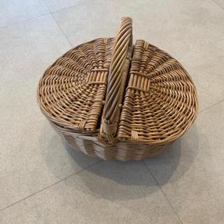 イエナ(IENA)のTURU by mariko  oikawa ツルバイマリコオイカワ カゴバッグ(かごバッグ/ストローバッグ)
