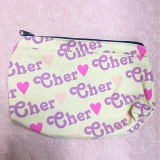 シェル(Cher)の【新品】cher ポーチ(ポーチ)
