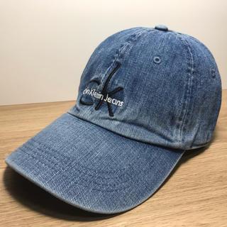 カルバンクライン(Calvin Klein)のカルバン クライン CK Logo Cap 送料無料 正規品 男女兼用 デニム(キャップ)