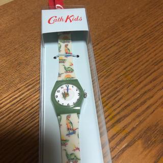 キャスキッドソン(Cath Kidston)のお値下げ ❗  新品 キャスキッドソン   恐竜 キッズウォッチ 腕時計(腕時計)