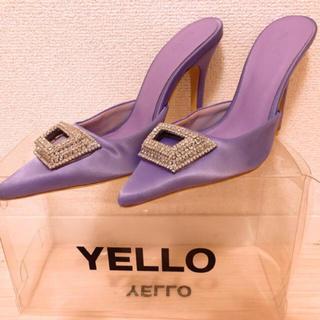 イエローブーツ(Yellow boots)の星あや yello イエロー birthdaybash ZARA ビジュー(ミュール)