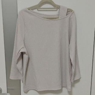 ヴィス(ViS)の肩出しトップス(Tシャツ(長袖/七分))