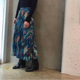 エンフォルド(ENFOLD)の新品ENFOLD  プリーツスカート 36エンフォルド 完売(ロングスカート)