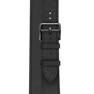 アップルウォッチ(Apple Watch)のApple Watch Hermes 40mm 2重巻き替えベルト レザー(腕時計(デジタル))