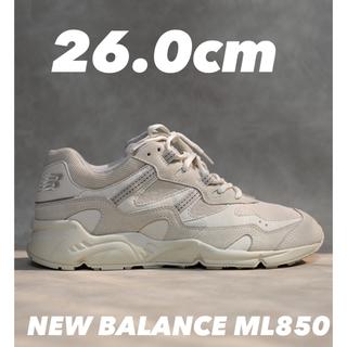 ニューバランス(New Balance)の新品 ML850CG OFF WHITE オフホワイト 26.0cm(スニーカー)