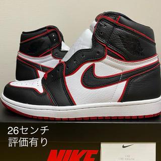 ナイキ(NIKE)のair jordan1 blood line(スニーカー)