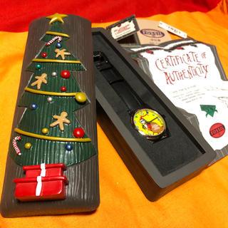 フォッシル(FOSSIL)の【ナイトメアビフォアクリスマス】2500本限定FOSSIL社腕時計(電池交換済)(腕時計(アナログ))