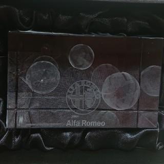 アルファロメオ(Alfa Romeo)のAlfa Romeoクリスタルペーパーウエイト(その他)
