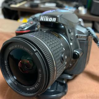 ニコン(Nikon)のNikon D5300 AF-P 美品 希少グレーカラー(デジタル一眼)