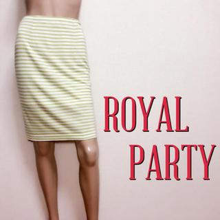 ロイヤルパーティー(ROYAL PARTY)の必需品♪ロイヤルパーティー キレカジ ストレッチスカート♡ザラ スナイデル(ひざ丈スカート)