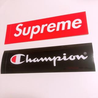 シュプリーム(Supreme)のSupreme × Champion ステッカー(ステッカー)