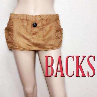 バックス(BACKS)の新品タグ付き♪バックス もてスウェード スカートパンツ♡マウジー トミー(ショートパンツ)