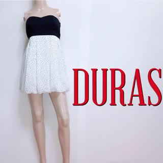 デュラス(DURAS)の新品タグ付き♪デュラス お呼ばれバルーンワンピース♡リエンダ リゼクシー(ミニワンピース)