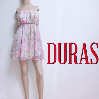 デュラス(DURAS)の間違いなし♪デュラス シフォンスカーフ ベアワンピース♡ダチュラ リゼクシー(ミニワンピース)