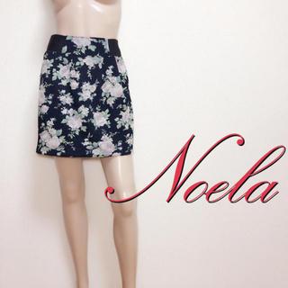 ノエラ(Noela)の間違いなし♪ノエラ フェミニン フラワースカート♡スナイデル リリーブラウン(ミニスカート)