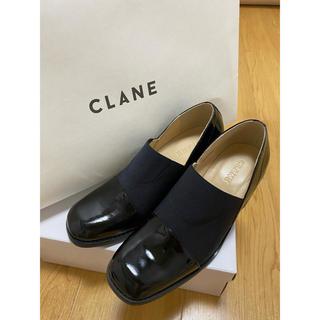 ステュディオス(STUDIOUS)のclane WIDE GORE FLAT SHOES ローファー(ローファー/革靴)