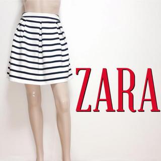 ザラ(ZARA)のもて服♪ザラ カジュアル タッグフレアスカート♡スナイデル リランドチュール(ミニスカート)