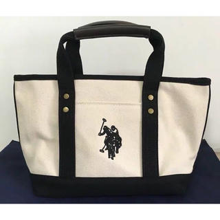 ラルフローレン(Ralph Lauren)のラルフローレン ユーエスポロアッスン キャンバス ロゴトートバッグS(トートバッグ)