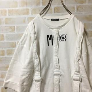 ミルクボーイ(MILKBOY)のミルクボーイ 半袖 スウェット カットソー MILKBOY ベルト デザイン(Tシャツ/カットソー(半袖/袖なし))