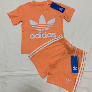 adidas - 新品 アディダス オリジナルス 半袖 Tシャツ ハーフ パンツ セット 80