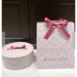 メゾンドフルール(Maison de FLEUR)のMaison de FLEUR メゾンドフルー♡イースターラビットギフトBOX (ショップ袋)