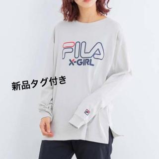 X-girl - 新品未使用    FILAコラボ 長袖Tシャツ