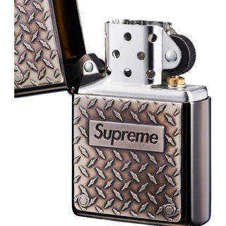 シュプリーム(Supreme)のSupreme Diamond plate zippo(タバコグッズ)