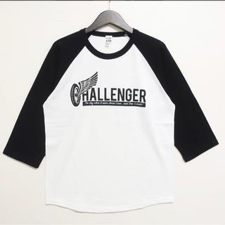 ネイバーフッド(NEIGHBORHOOD)の新品未使用 チャレンジャー 七分袖 ラグラン Tシャツ L(Tシャツ/カットソー(七分/長袖))