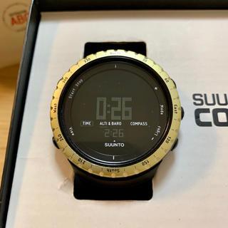スント(SUUNTO)の電池交換済 SUUNTO CORE スントコア BLACK ブラック×イエロー(腕時計(デジタル))