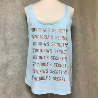 ヴィクトリアズシークレット(Victoria's Secret)のVictoria's Secret ロゴ ハート プリント タンクトップ(ルームウェア)