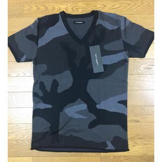 ウノピゥウノウグァーレトレ(1piu1uguale3)の新品 定価3.8万 1piu1uguale3 ビッグカモニットTシャツ AKM(Tシャツ/カットソー(半袖/袖なし))