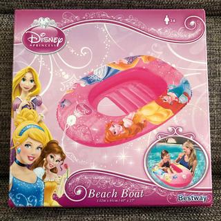 Disney - 新品 プリンセス ビーチボート 浮き輪