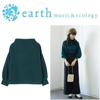 earth music & ecology - 新品未使用 earthmusic&ecology ボトルネックモコカットソー