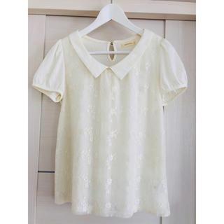 プーラフリーム(pour la frime)の☆美品☆ pour la frime  レースTシャツ(Tシャツ(半袖/袖なし))