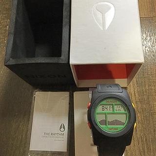 ニクソン(NIXON)の【サーフィン】NIXON RYTHM TIDE graph 腕時計(腕時計(デジタル))