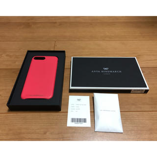 アニヤハインドマーチ(ANYA HINDMARCH)のアニヤハインドマーチ スマホケース iPhone7/8plus ピンク(その他)