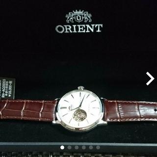 オリエント(ORIENT)の【新品】オリエント 機械式 腕時計(腕時計(アナログ))